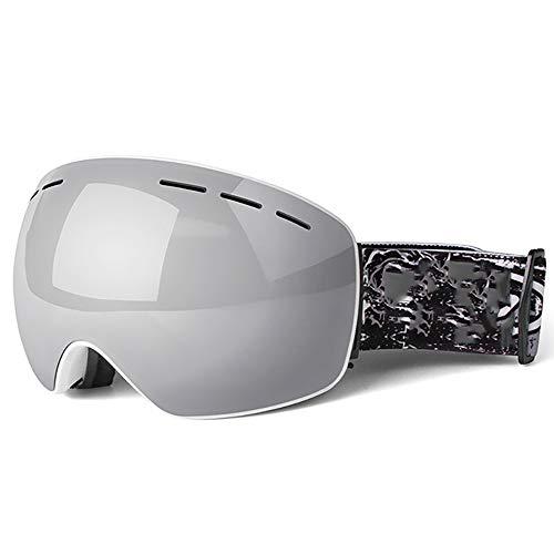 FGGTMO Gafas de esquí de Nieve, esquí Snowboard Gafas de protección UV400...