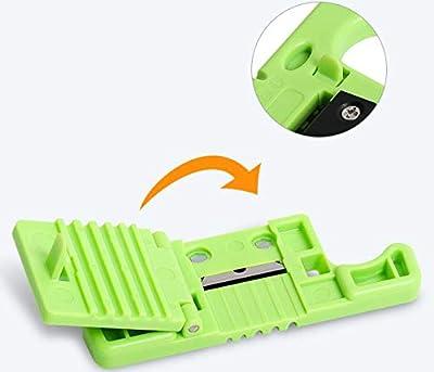 Fiber Optic Stripping, 5 Loose Buffer Tube Stripper Mid-Span Access Tool 1.9-3Mm Fiber Optical Stripper