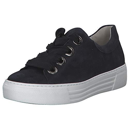 Gabor Comfort Damen Sneaker Florenz 26.464-46 blau 607070