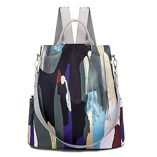 MIMITU Mochilas Oxford para mujer, mochilas escolares impermeables para mujer, mochila para ordenador portátil de moda para mujer, mochila de negocios de gran capacidad para mujer, 01