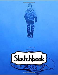 Sketchbook: Gift for Avicii Fan EDM Music Hey Brothers The Nights Wake Me Up Sketchbook Cute Drawing Photo Art Incredible Soft Glossy Duo Blank Sheets ... for Teens and Children Students School Kids