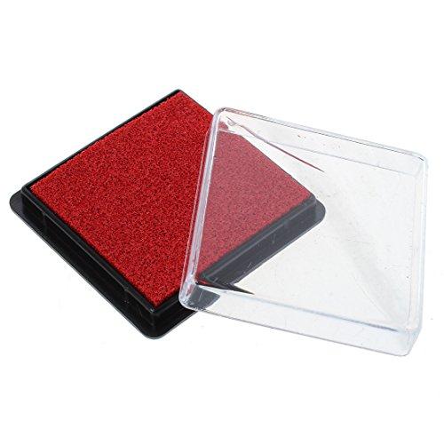 SODIAL SODIAL(R) Tampon encreur tampon d'encre affranchissement de mariage document rouge