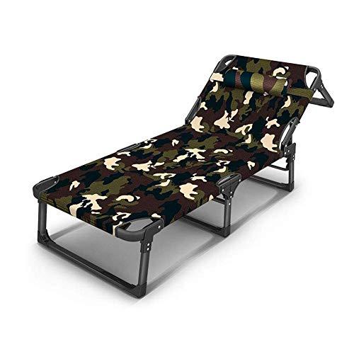 BRISEZZ Tumbona reclinable Plegable al Aire Libre Jardín Terraza huéspedes Casa de Asiento (Color: T2) HRTT (Color : T2)