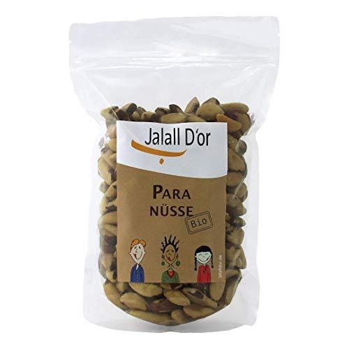 Paranusskerne bio von Jalall D'or | 1kg | frisch abgefüllt | Premium Paranüsse natur