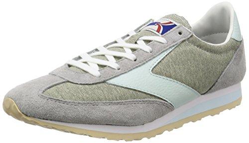 Brooks Vanguard Womens Vintage Sneakers-Grey-7.5