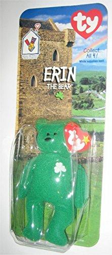 1 X TY Erin the Bear McDonalds Teenie Beanie - NEW SEALED