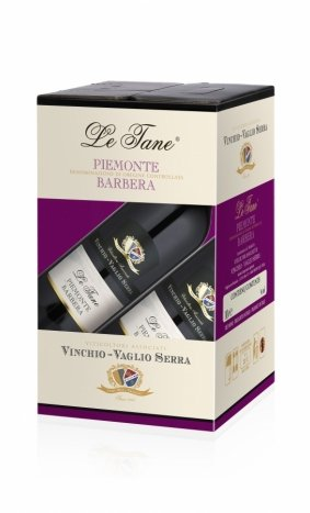 Bag in Box Vinchio Vaglio Serra Le Tane Piemonte Barbera da 10 lt.