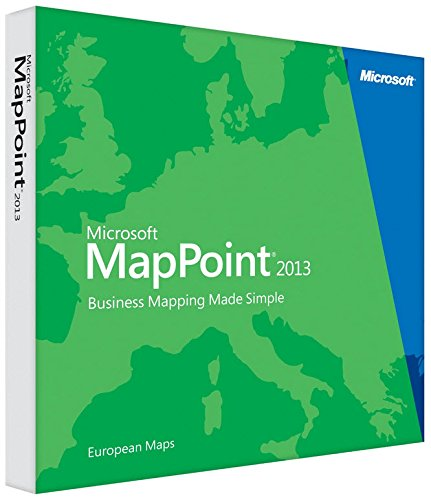 Microsoft MapPoint 2013 (DVD) - Europe - Langue française