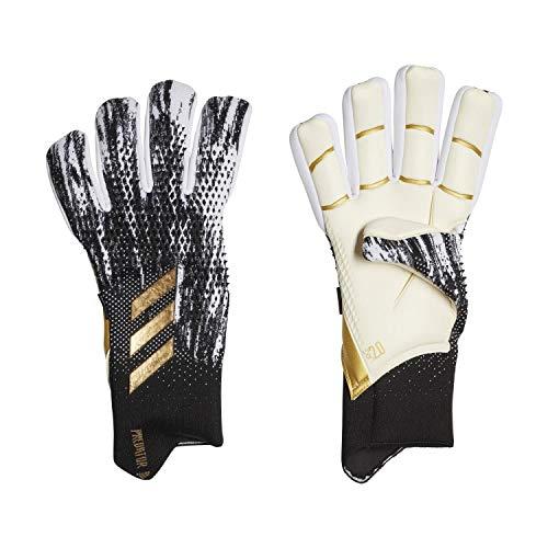 Adidas Predator Pro Fs - Guanti da portiere da uomo, colore: nero/bianco/oro