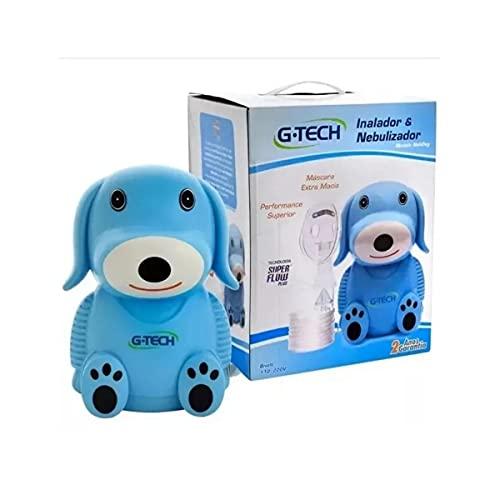 Inalador Nebulizador G-Tech Nebdog Azul Bivolt, G-Tech