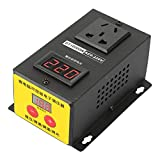Voltage Regulator, AC 220V 10000W High Precision Adjustable Thyristor Electronic Voltage Regulator