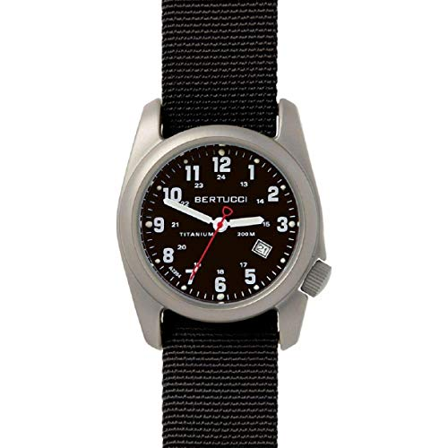 Bertucci Men's 12022 A-2T Original Classics Durable Titanium Field Watch