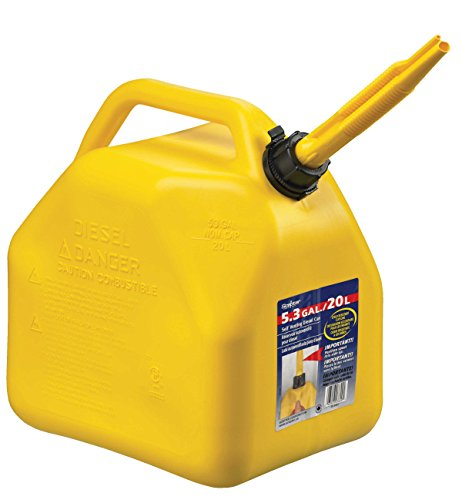 Scepter 7649 Jerry Self-Venting Gas Can (5.3 gal, Polyethylene)