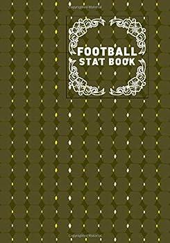 Football Stat Book  Football Score Sheets Soccer Scorebook Football Score Pads Scorekeeping Book Scorecards Record Scorekeeper Book Gifts for .. Vacation 110  Football Match Scorebook