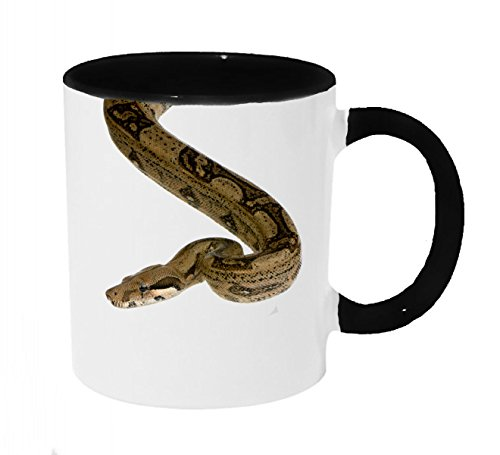 Boa Constrictor Dropping In Coffee or Tea 11oz Mug - Perfect Gift for Snake and Animal Lovers