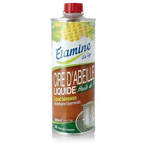 Etamine Du Lys Bois et Cuir Cire d'Abeille Liquide 500 ml