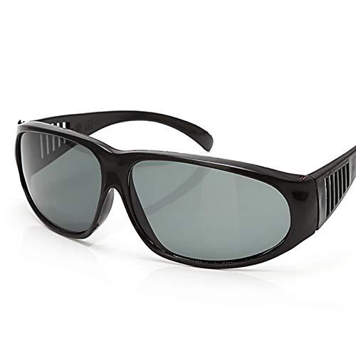 Casco de soldador Gafas de soldar Nuevas gafas de soldadura Protección contra impactos Anti impermeable Gafas a prueba de pulverización Gafas de soldadura protectora (Color : Black)