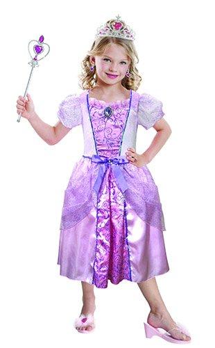 Amscan - 997587 - Set de Déguisement de Princesse - Fille - 3-6 Ans - Rose Clair