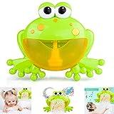 FOONEE Máquina de Burbujas de Baño para Niñ 12 Nursery Rhymes Máquina de...