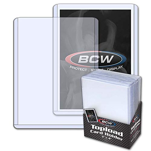 BCW Trading Card Topload Holder - 25 ct