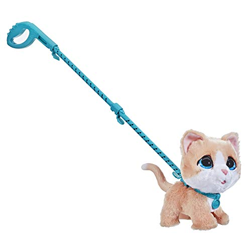 FurReal Walkalots Big Wags Interactive Kitty Toy  Fun Pet Sounds and Bouncy Walk  Ages 4 and up (F1998)