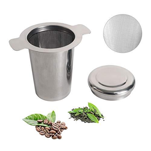 MINGJING Edelstahl Teesieb Rostfreies 304 Edelstahl Teel-Sieb für losen Tee Teefilter passend für Thermomix TM6 / TM5 Premium Sieb