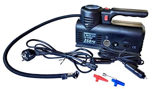 Haukka 702701 Minicompresor Coche Dc 12V, Ac 110V/230V