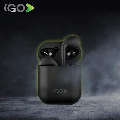 IGO Airlite True Wireless Stereo Headset Auriculares inalámbricos Negro Mate