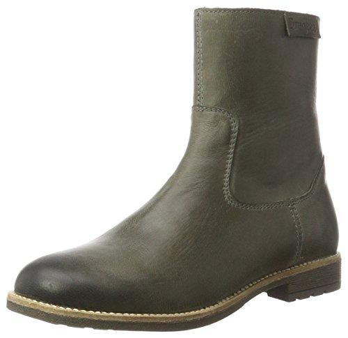 Braqeez Mädchen olio1 Stiefel, Grau (Grey), 35 EU