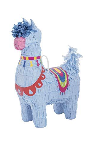 Unique Party- Mini Llama Party Pinata | 1 Pc 73239-Lama Faveur Décoration-Fête danniversaire à thème, 73239, Nylon/A