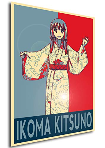Instabuy Poster - Propaganda - Nobunaga-Sensei no Osanazuma - Ikoma, Kitsuno A4 30x21