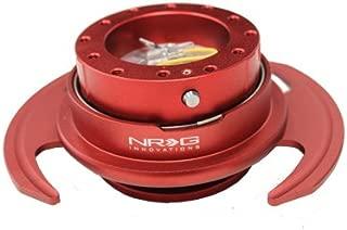 NRG Steering Wheel Quick Release Kit - Red Gen 3 - Part # SRK-650RD