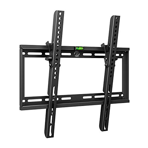 Tilt TV Wall Mount Bracket for 32-55 Inch Samsung Sony Vizio LG Sharp LED LCD OLED QLED Plasma Flat Curved Screen TVs, VESA 400x400mm 154lbs Capacity, Fits 16