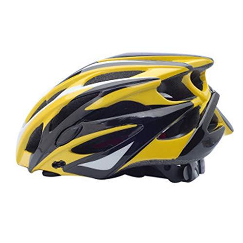 Bicicleta Casco Adulto Unisexo con Certificado CE,Visera y Forro Desmontable Especializado para Ciclismo de Montaña,Hombres Mujeres Adultos de Bicicleta para Montar-C-M