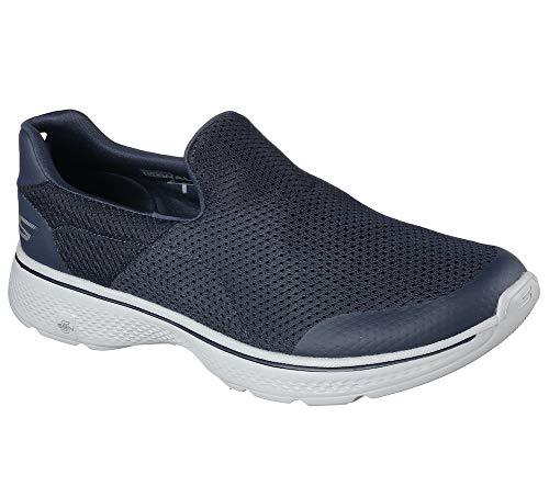 Skechers Go Walk 4, Zapatillas para Hombre, Azul (Nvgy), 44 EU