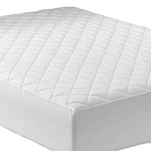 PORTER EN LAMBERT gewatteerde matrasbeschermer Cover Easy Care 30cm diep uitgerust beddengoed beschermer: niet-allergeen & anti-stofmijt