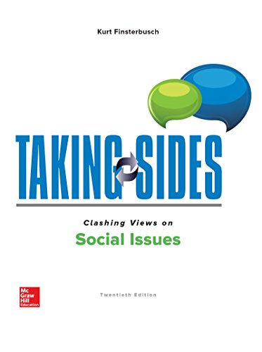 Compare Textbook Prices for Taking Sides: Clashing Views on Social Issues 20 Edition ISBN 9781260180299 by Finsterbusch, Kurt