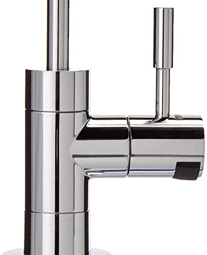 Brondell UC100 H2O+ Coral Single-Stage Under counter Water Filtration System with Over 99% Lead Reduction, 1, Chrome 7 Powerful certified carbon block filtration performance certified for more than 99% lead reduction Designer chrome faucet with integrated LED filter change indicator (included) Twist & Seal filter makes replacement a breeze