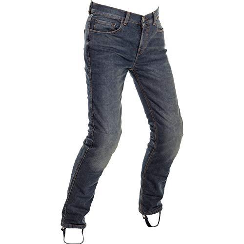 Richa Motorradhose Original Jeans Slim Fit blau 30, Herren, Chopper/Cruiser, Ganzjährig, Textil