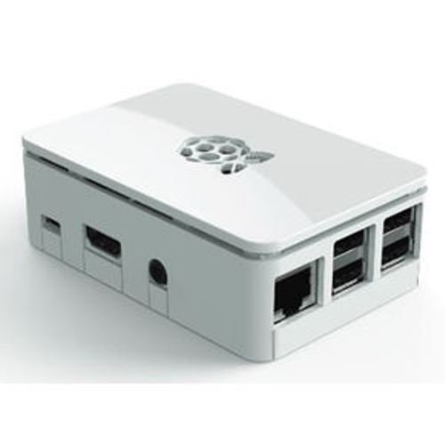 Viaboot Premium Raspberry Pi Case (White) - Updated for Raspberry Pi 3, 2 & B+