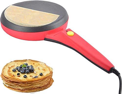 ZXYY Crêpière électrique Ronde antiadhésive crêpière Machine à crêpe poêle à Frire Pizza Omelettes Pains Plats Outils de Cuisson 220 V