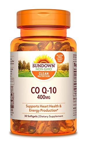 Sundown Naturals CoQ10 400 mg 30 Softgels