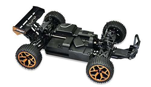 Amewi 22226 Fierce 1:18 4WD RTR, Fahrzeug, Truggy orange
