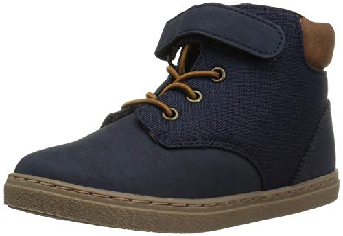 The Children's Place Boys' Mid Top Sneaker, Tidal, TDDLR 5 Child US Toddler