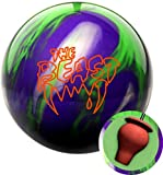 Columbia 300 Beast Purple/Lime/Silver Bowling Ball (14)