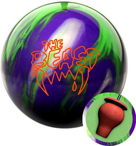 Columbia 300 Beast Purple/Lime/Silver Bowling Ball (16)