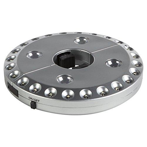 Aktive - Lámpara de 24 + 4 LEDS para sombrilla (53763)