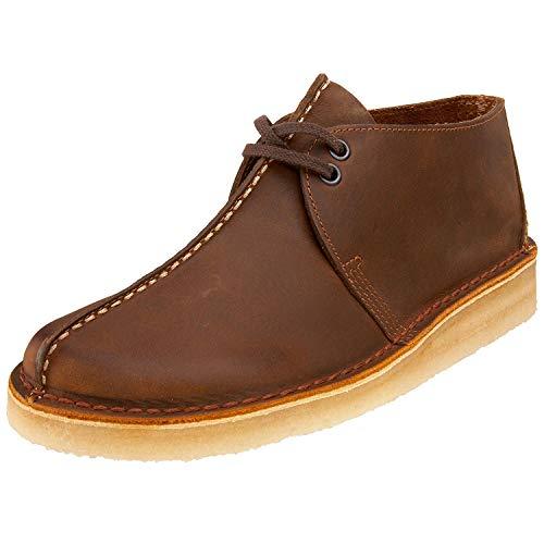 Clarks Men's Desert Trek Boots, Beeswax, Brown, 13 Medium US
