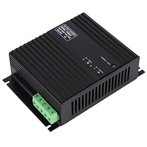 Dispositivo de carga de batería de generador inteligente de 12 V / 24 V, cargador de batería de plomo-ácido 4A con LE AC 80-275V para batería de plomo-ácido