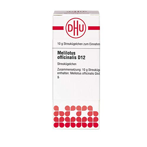 DHU Melilotus officinalis D12 Streukügelchen, 10 g Globuli